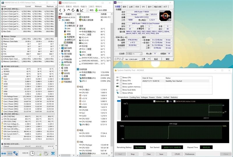 千元差价面前玩家该如何选择?酷睿i7-10700KF vs 锐龙7 5800X对比测试