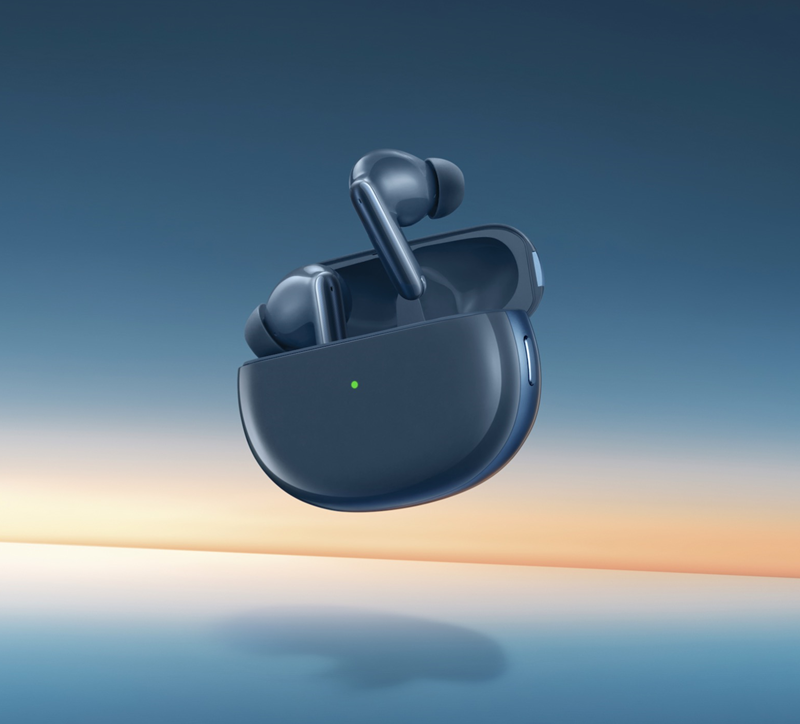 OPPO Enco X蓝调版真无线降噪耳机评测:尝鲜丹拿音效!Hi-Fi般的感觉