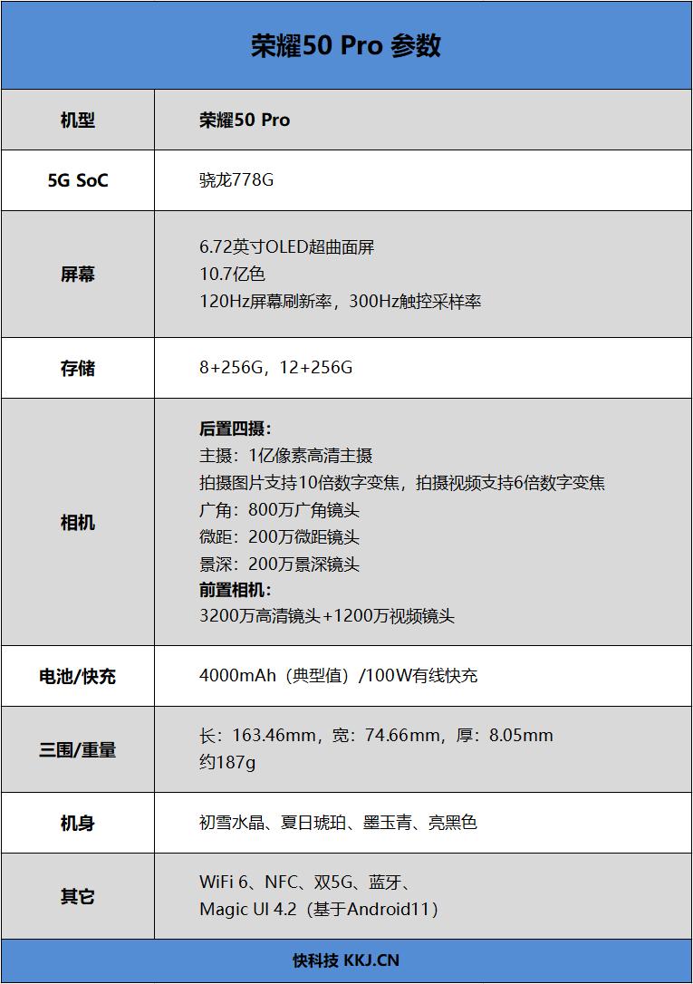 荣耀50 Pro首发评测:荣耀调校下的骁龙778G 不一样的创新体验
