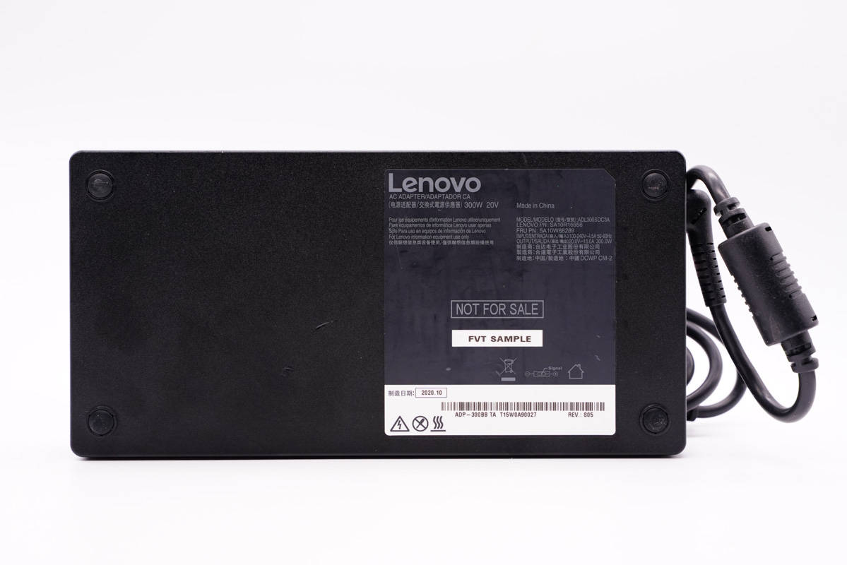 拆解报告:Lenovo联想拯救者R9000P游戏本300W电源