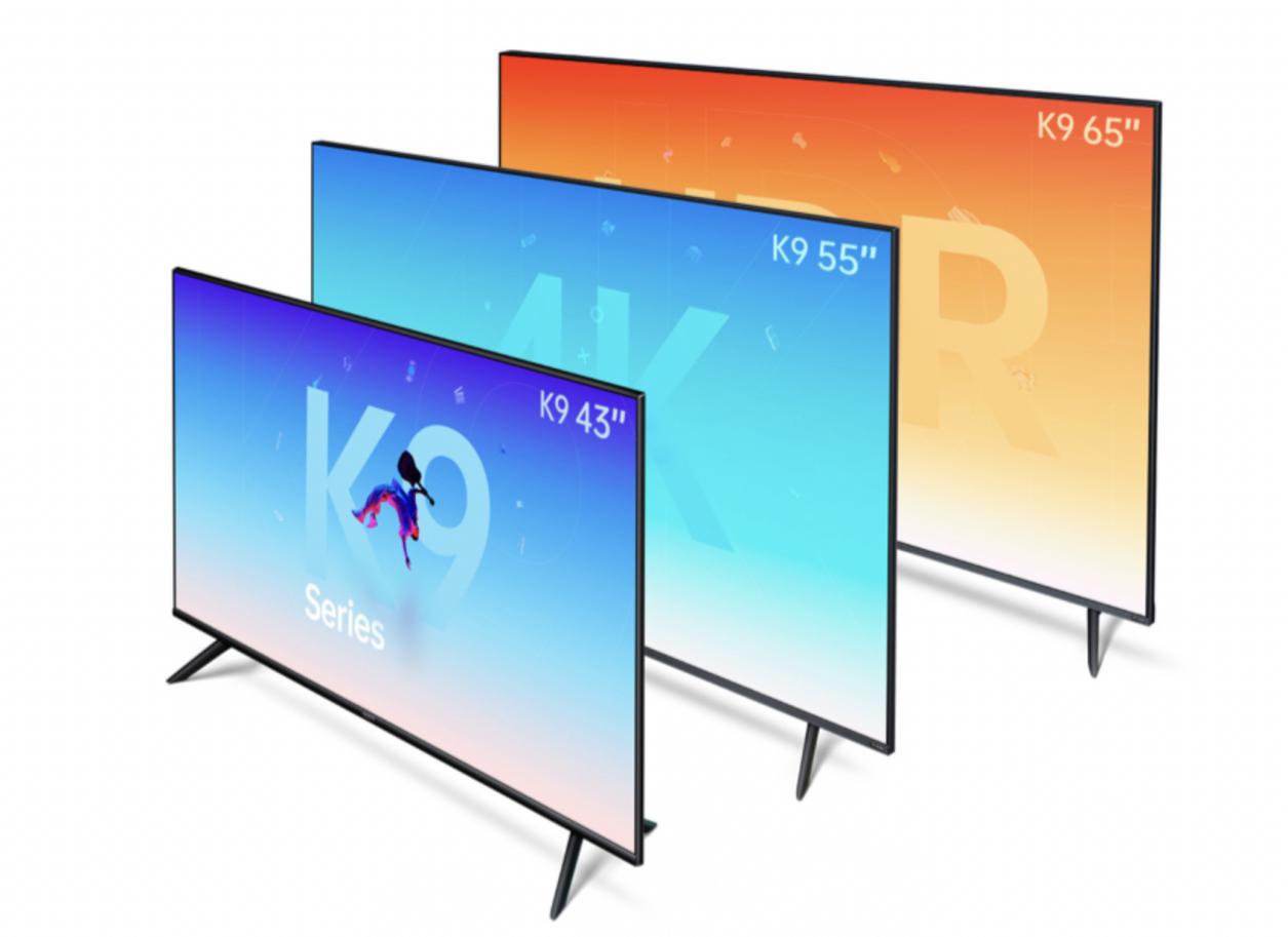 OPPO 智能电视 K9 55 英寸首发金沙app安装平台:色彩小金刚