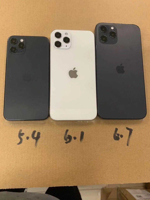 iPhone 12模型机曝光:难道真的就长这样了吗?