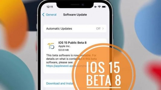 iOS 15 Beta 8来了,正式版就在不远处!