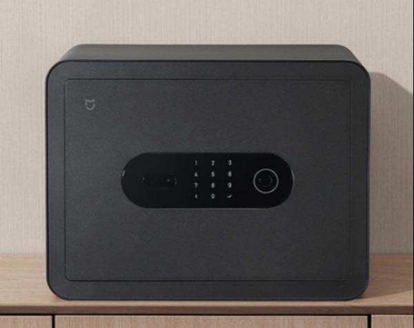 米家智能保管箱,6种开锁方式 C级锁芯,仅售599元