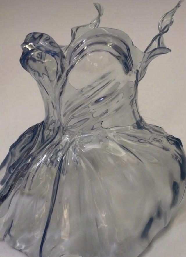 巴黎时装周,当时尚遇到科技,3D打印裙子惊艳全场