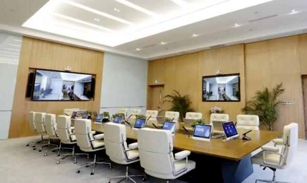 全智能会议室是什么模样?工业安卓一体机多屏显示是重点!