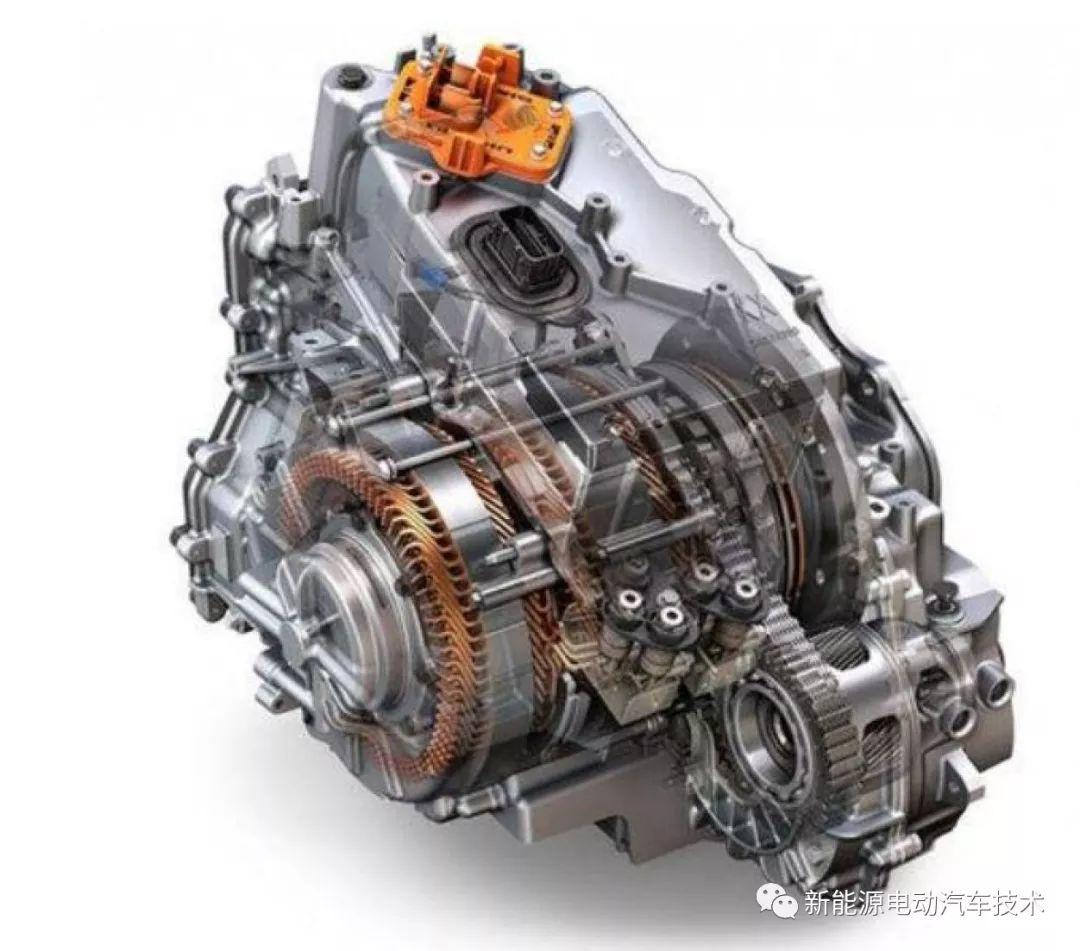 别克VELITE5增程式电动汽车变速箱拆解
