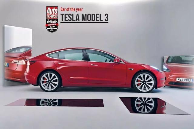 Model 3再获两大奖项Buff加持,2019年度车型就是它