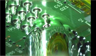 浅析选择性波峰焊喷锡嘴环保无卤水基清洗方式