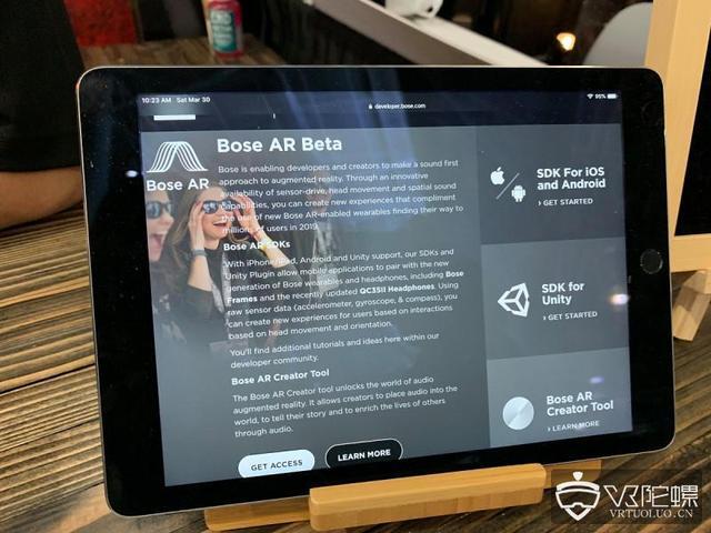 Bose竟然在做智能眼镜?Bose AR音频眼镜展示其音频游戏