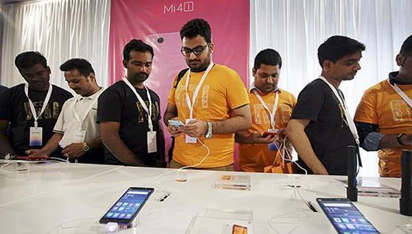 小米在印度推采用联发科芯片手机,有助提升市场份额
