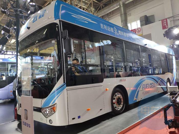 """""""远程""""客车发布的背后,吉利已低调蚕食新能源公交市场"""