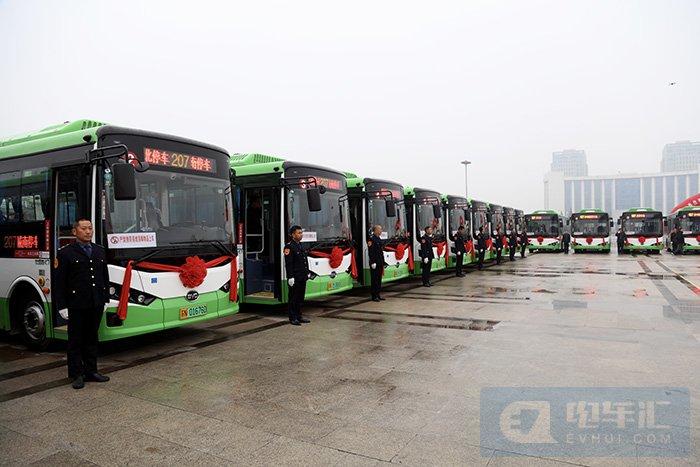 绿色公交再添新动能,比亚迪纯电动公交车首投泗阳