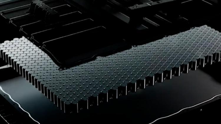 特斯拉首次对外展示4680新型电池生产线!