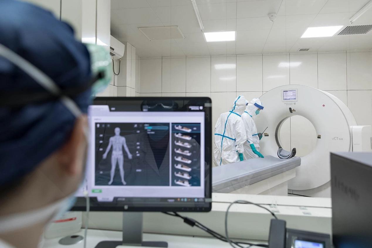 天翼云聯合上海聯影推出AI肺炎診斷系統