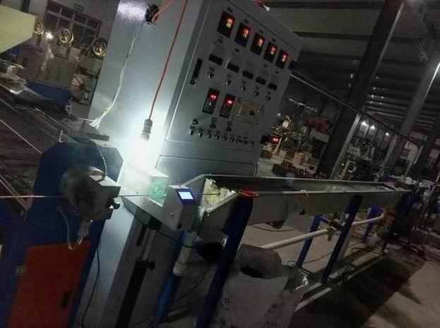 机器人线缆的外径检测