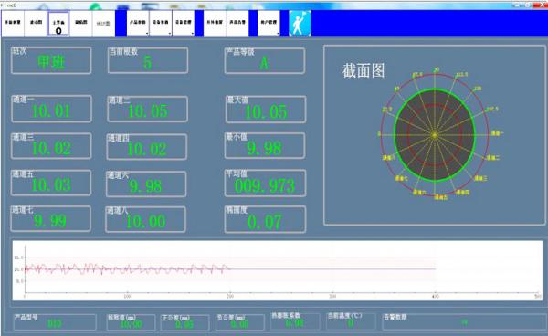 蓝鹏测控:选择轧钢测径系统的五大理由