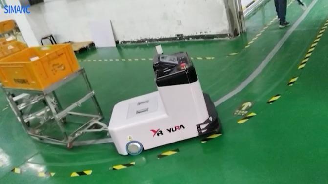工厂搬运招工难,搬运机器人来解决