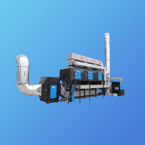 有机废气是如何通过催化燃烧设备进行处理的?