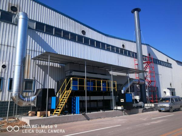 催化燃燒設備-工業惡臭氣體處理利器!