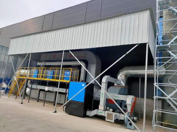 喷涂行业废气处理首选催化燃烧废气处理设备!
