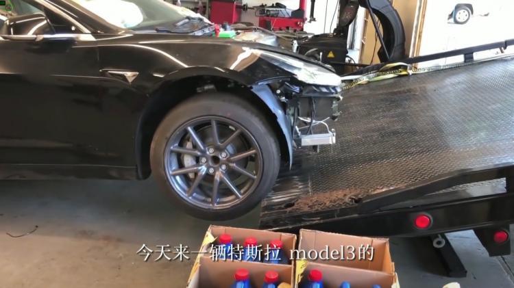 特斯拉Model 3动力电池包如何拆解?