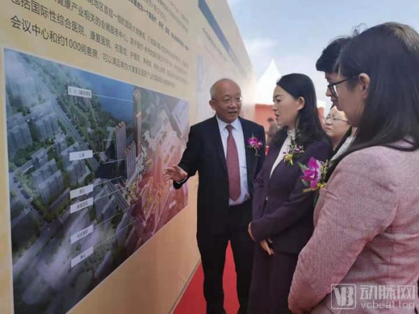 鹏瑞利国际健康商旅城昆明南站项目动工,总投资预计超过70亿元