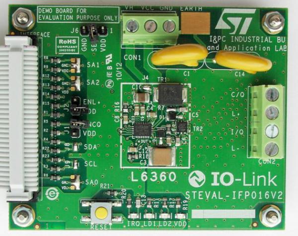 IO-Link技术与意法半导体