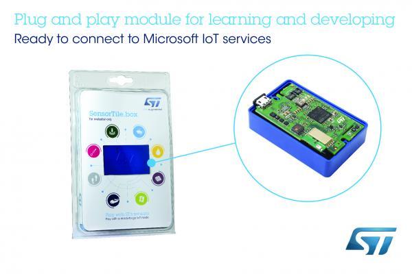 意法半导体物联网即插即用模组直连Microsoft Azure微软云  让物联网感知技术更易于使用