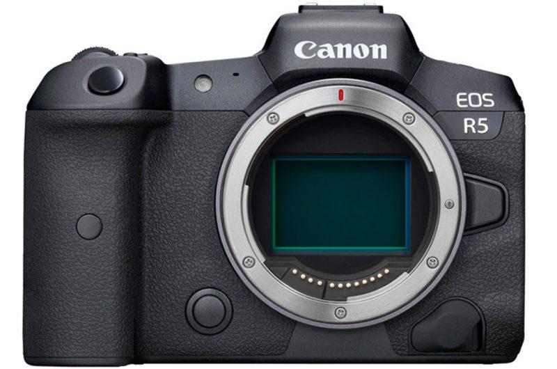 佳能EOS R5s最新消息:发布时间,相机规格曝光