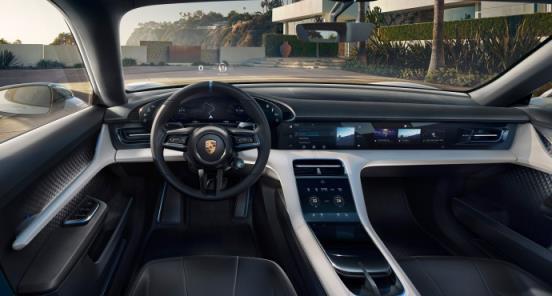 智慧座舱,眼球跟踪,动态底盘,保时捷这概念车能否阻击特斯拉?