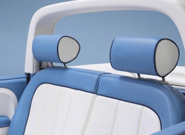 菲亚特500 Spiaggina限量版,这可能是最得少女心的配色了!