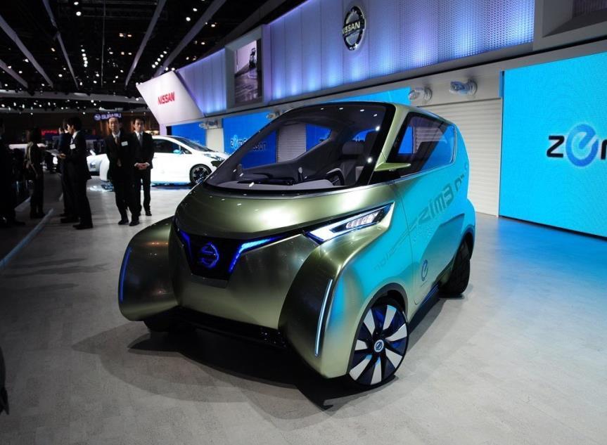 监视器取代后视镜,日产这款车长不足3米的纯电动概念车圈粉无数