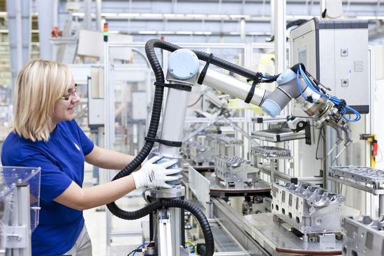 机器人使机床自动化