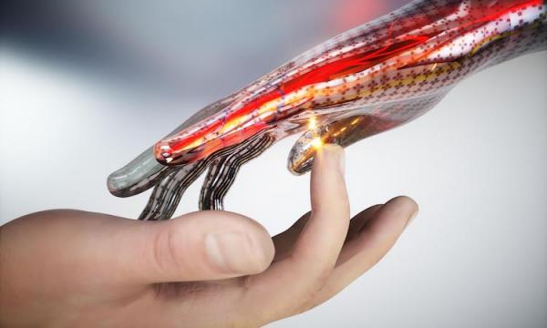 """开发了一种新的电子皮肤,使机器人也能""""感到痛苦"""""""