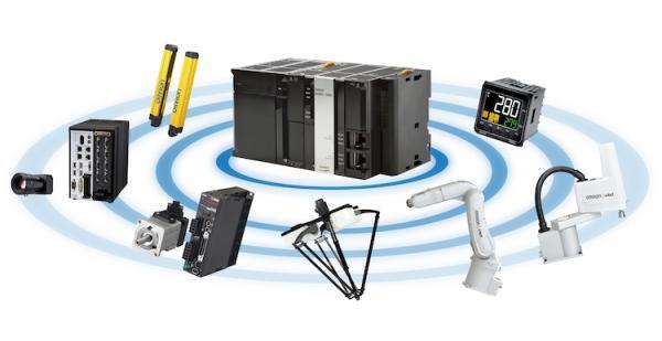 """欧姆龙推出""""全球首款""""用于全自动机器人生产系统的集成控制器"""
