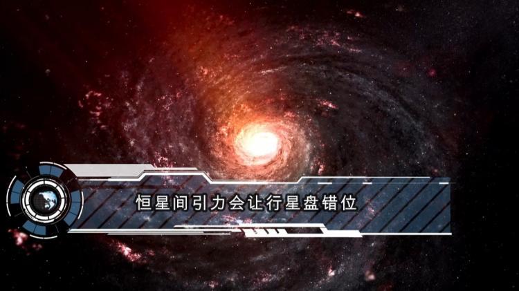 恒星間引力會讓行星盤錯位