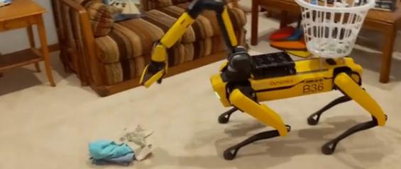 陈根:波士顿动力机器人,再出新功能