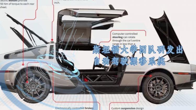 斯坦福大学团队研发出自动驾驶漂移系统