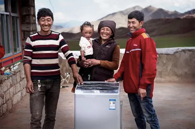 京东智能物流仓落地西藏,昔日的不包邮区如今也能享受当日达