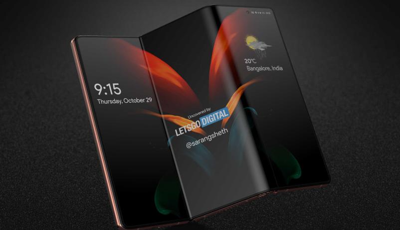 三星科幻级手机再曝光,三折叠和透明屏全都有!