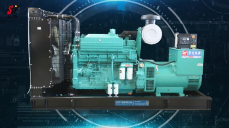 华力发电机组:启动快/供电稳/油耗低