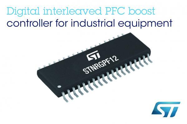 意法半导体推出灵活的数字功率因数控制器,以高性能、高稳定的模拟技术满足工业应用需求