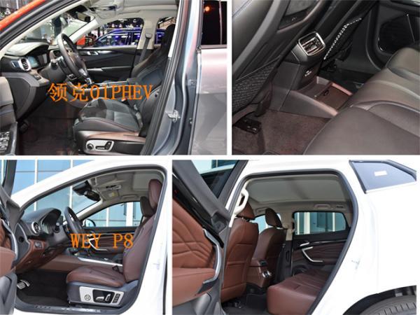 插电混动SUV领克01PHEV和WEY P8谁更值得购买?