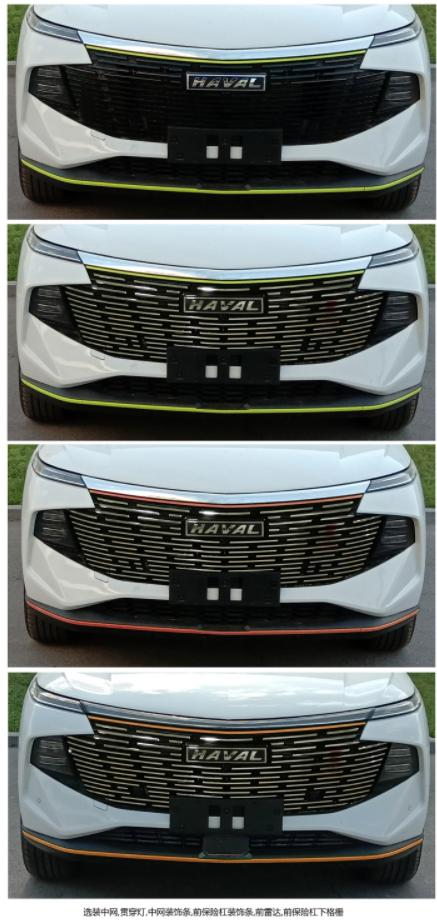 """请注意""""神兽""""出没,哈弗全新SUV或将命名为神兽,实车图曝光"""
