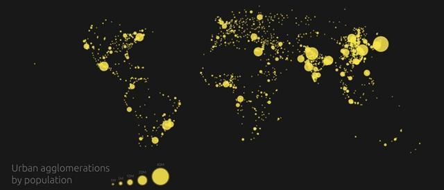 这7张震撼的图片揭示了人类的足迹和世界的连接