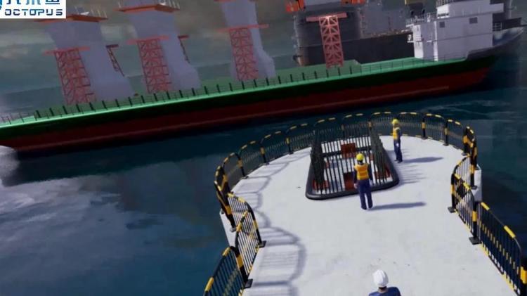 八爪鱼科普VR内容定制系列-VR海上吊装事故