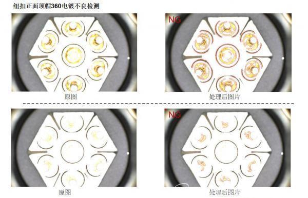 昊天宸科技 | 纽扣机器视觉检测设备,表面缺陷自动化检测