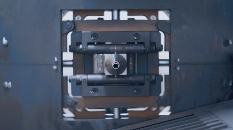 电子烟外壳异形铝管切割