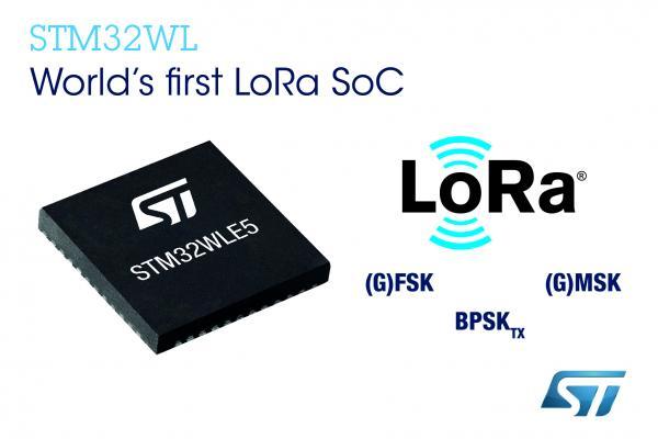 意法半导体推出STM32系统芯片,加快LoRa? IoT智能设备开发